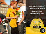 I will give you 1 month gold subscription to the worlds best online dating site